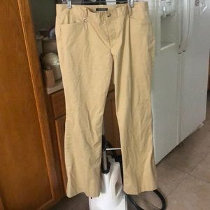Tan Khaki Trousers Stretch
